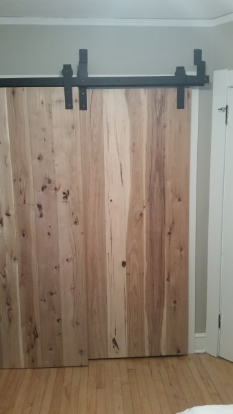 Bypassing Barn Doors For Bedroom Closet Time 2 Remodel Llc
