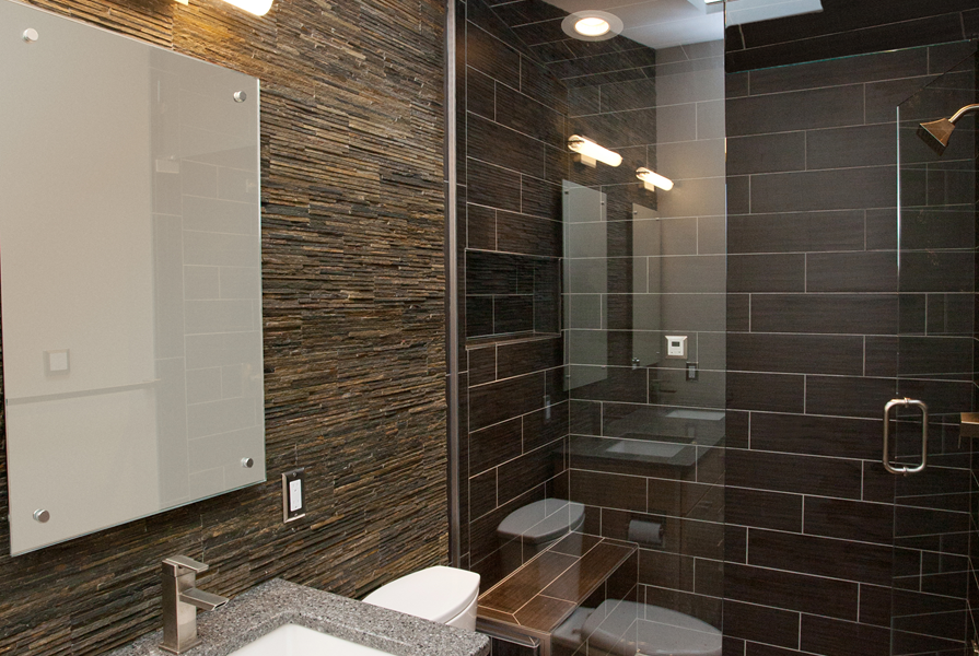 Contemporary Spa Like Bath Remodel with Steam Shower – Time 2 ...