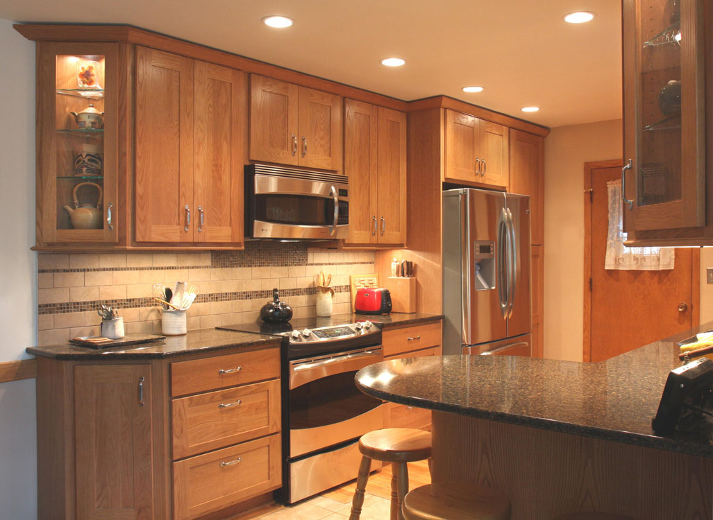 Creative galley kitchen time 2 remodel llc for Artistic kitchen cabinets